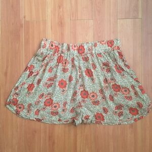 Isabel Marant Etoile Multicolor Silk Blend Shorts